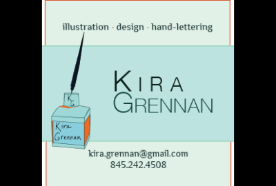 Kira Grennan business card
